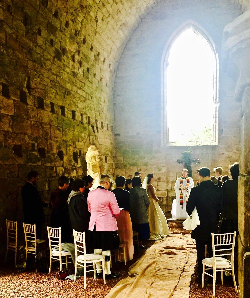 Dunglass Castle. A very nice Scandinavian wedding 4th October 2017