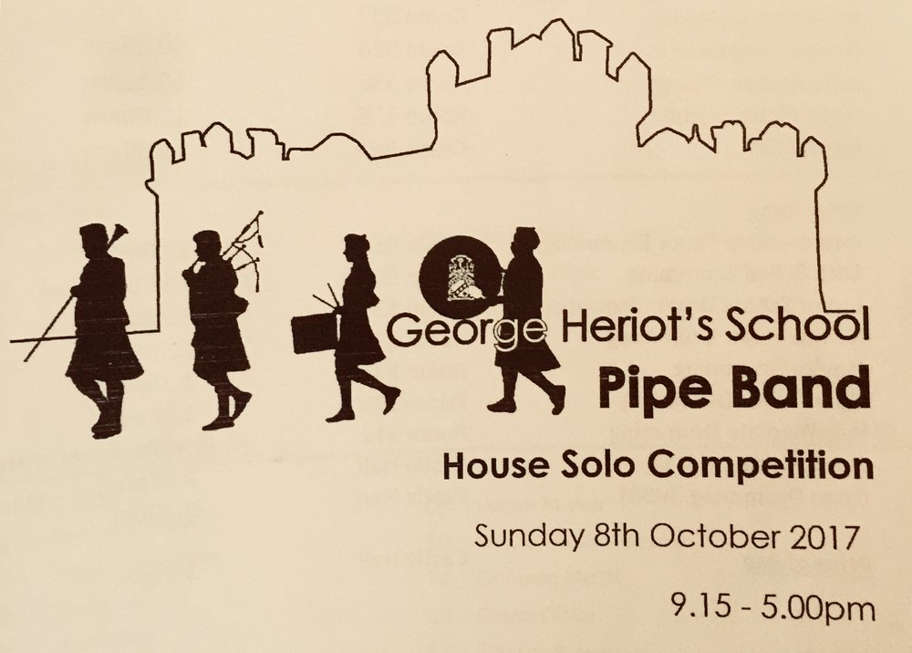 On Sunday 8th October saw return to my old school to judge their house competition