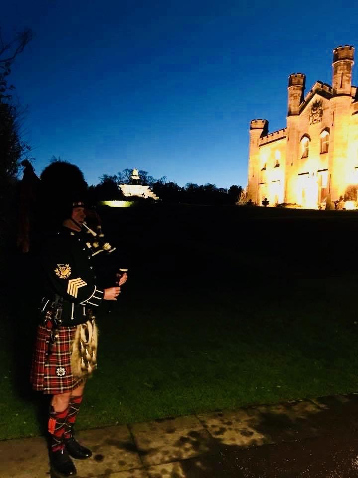 A Winter wedding. Dundas Castle    December 2017