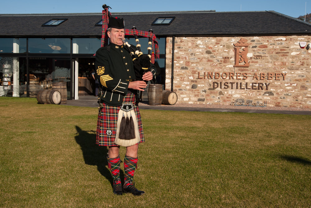 The launch of Aqua Vitae at Lindores Abbey Distillery 2018