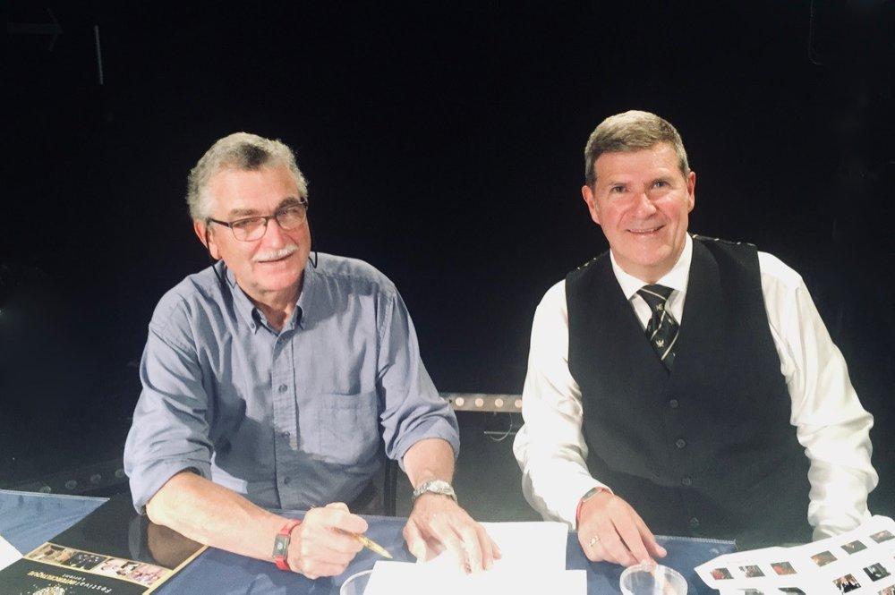 Judging with Dr Angus MacDonald.Lorient 2018