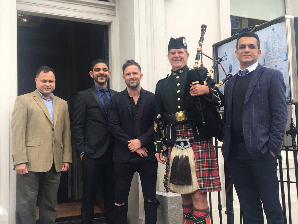 The opening of the Mumbai Diners Club Edinburgh 2018