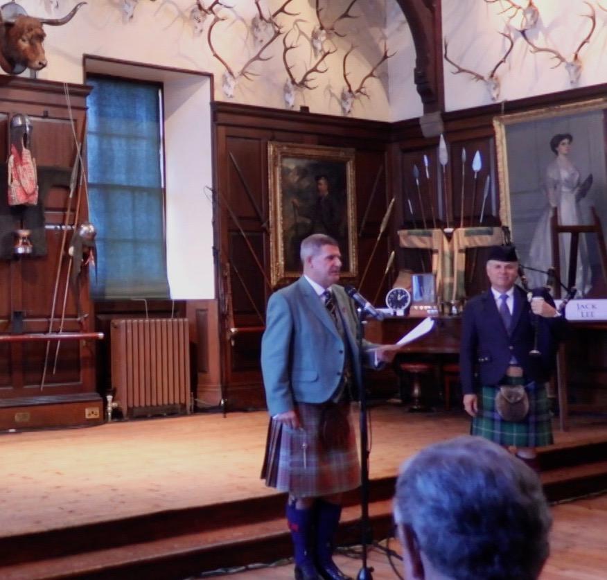 Introducing Stuart Liddle. The Glenfiddich Championships 2018