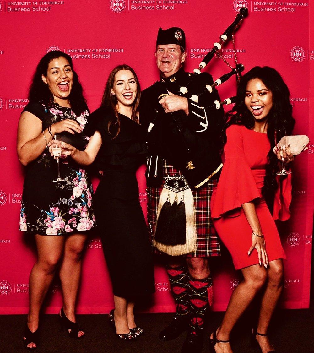 University of Edinburgh Business Studies Winter Graduate awards    Nov 2018
