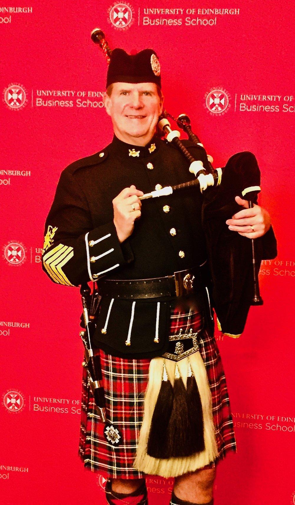 A few pics from the University of Edinburgh Business Studies winter graduation awards