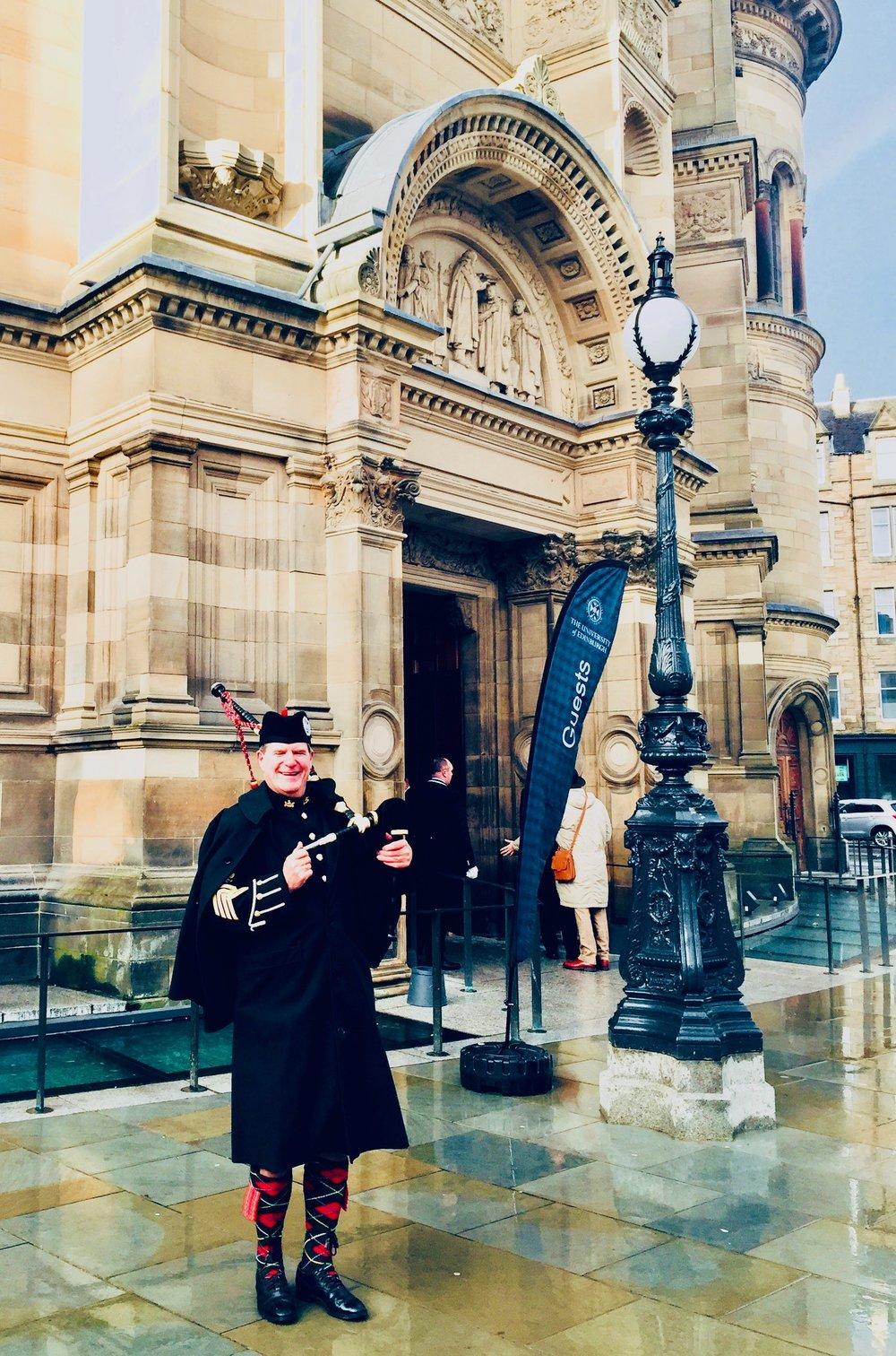 The McEwan Hall. Edinburgh University Winter Graduation. Nov 2018