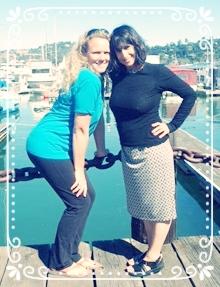Rima and Veronica in Sausalito.JPG