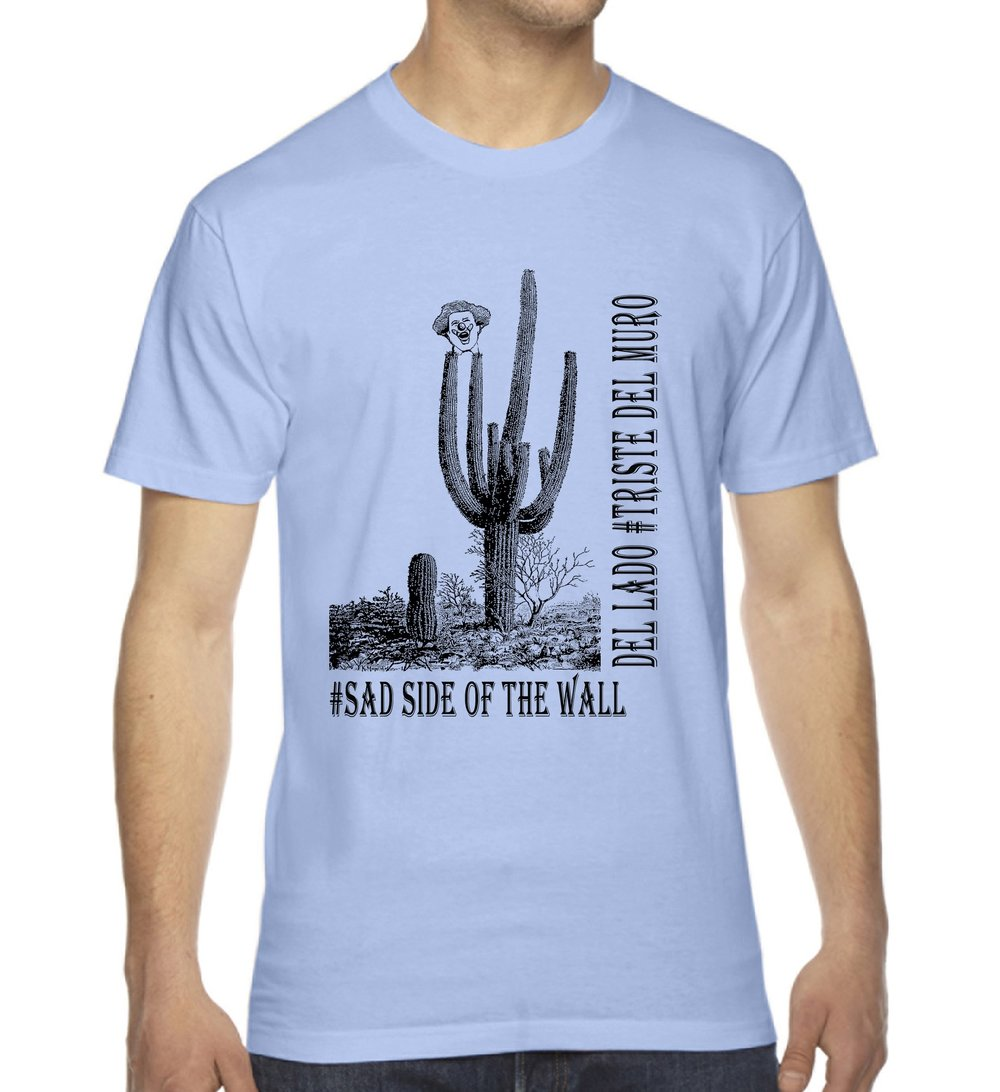 #Sad Side of the Wall Unisex Crew $26