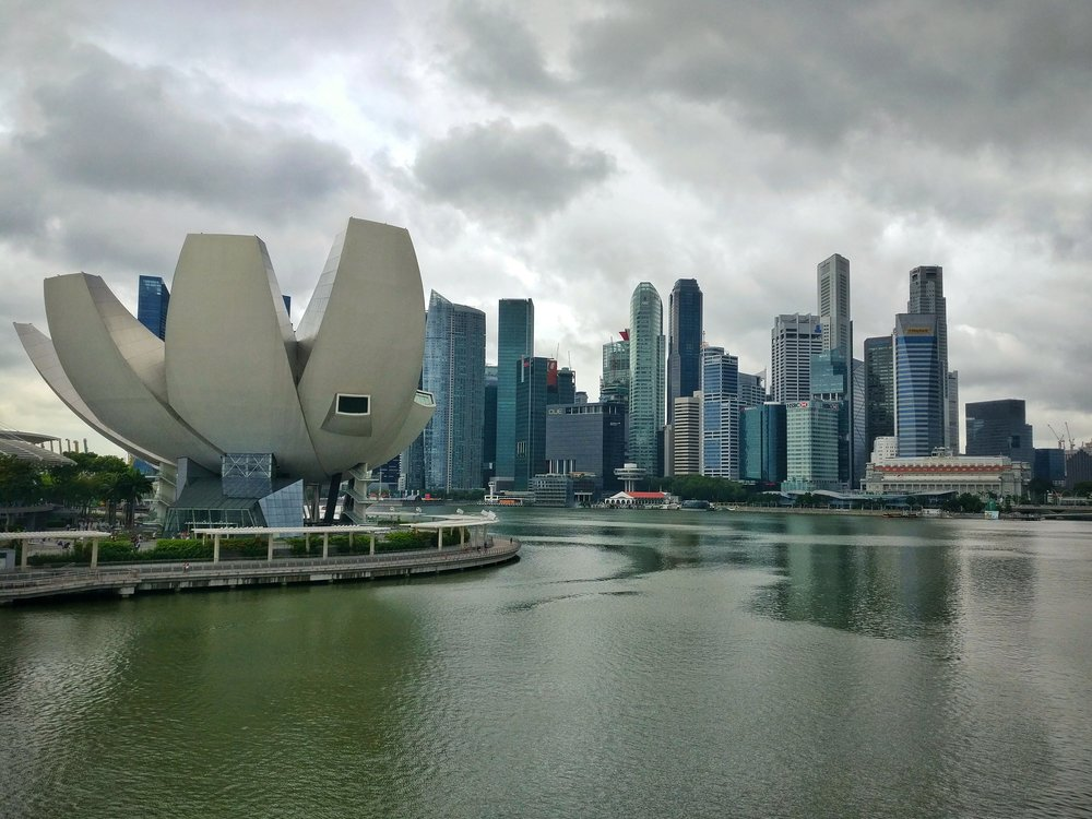 Singaporean cityscape
