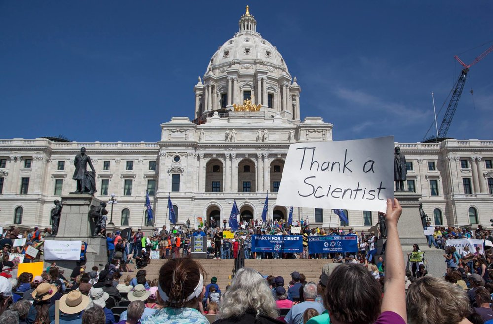 Join us Saturday at the Rally for Science! -