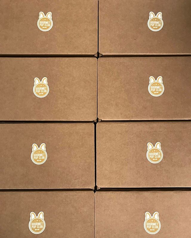 September Boxes are going out to our subscribers tomorrow. A lot of pooches are excited to be receiving yummy treats!