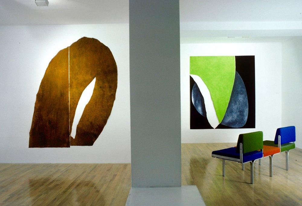 Bruno Facchetti Gallery Installation, 1986.