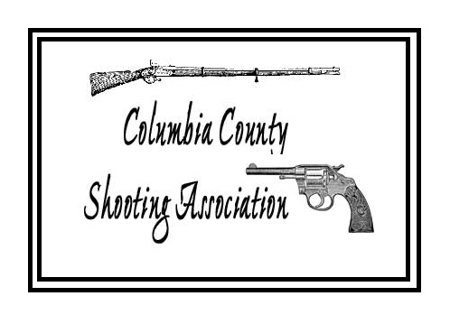 Columbia county Shooting Association - Club meetings: 2nd Thursday of the FIRST month of quarter - 7 pm at the Port of Columbia - 1 Port Way (next door to Desperado Cowboy Bullets)