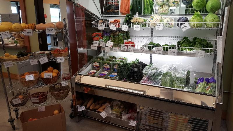Fresh produce arrived this morning, we are re-stocked on all of your favorites! We also have a great selection of dairy products. You can't beat our prices on milk!