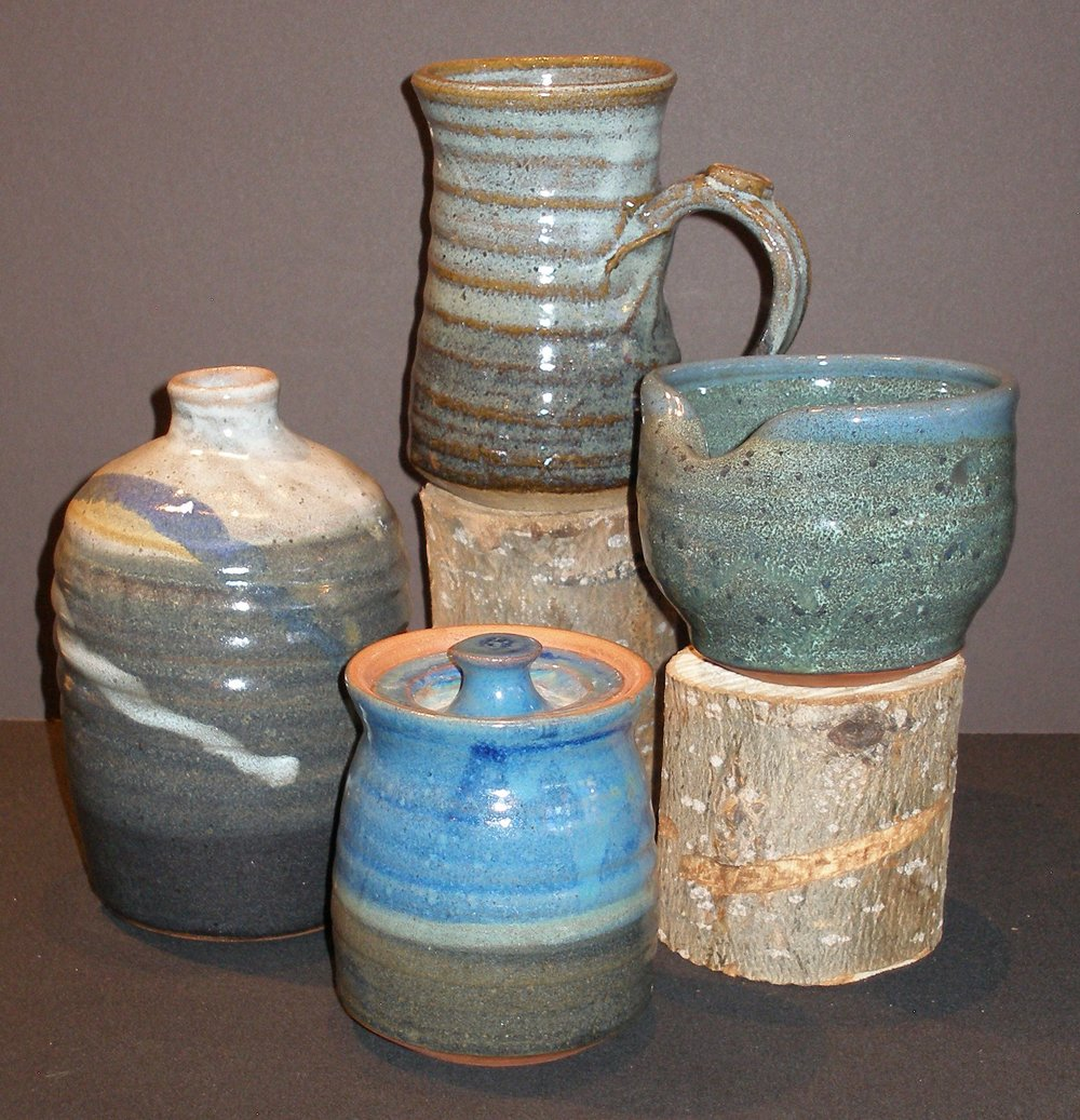 4-23-18 Pottery by Pat Flemming.JPG
