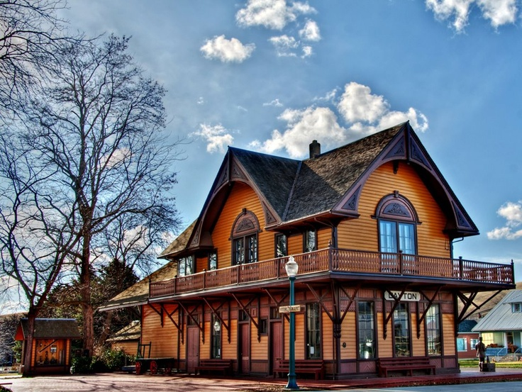 Dayton Historic Depot - The oldest surviving train depot in the state of Washington.