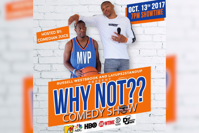 Why Not?- October 13