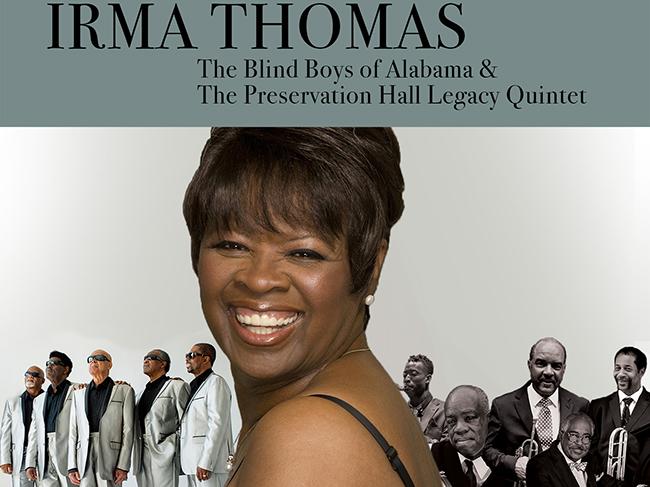 Irma Thomas- October 17
