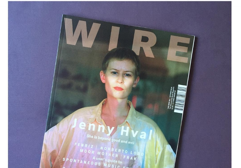 The Wire Issue 392, October 2016 - Jenny Hval cover feature