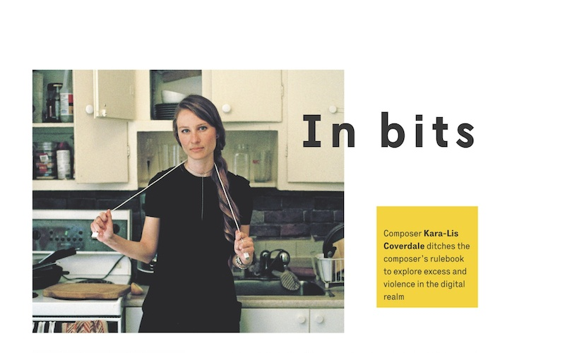 The Wire Issue 376, June 2015 - Kara-Lis Coverdale feature