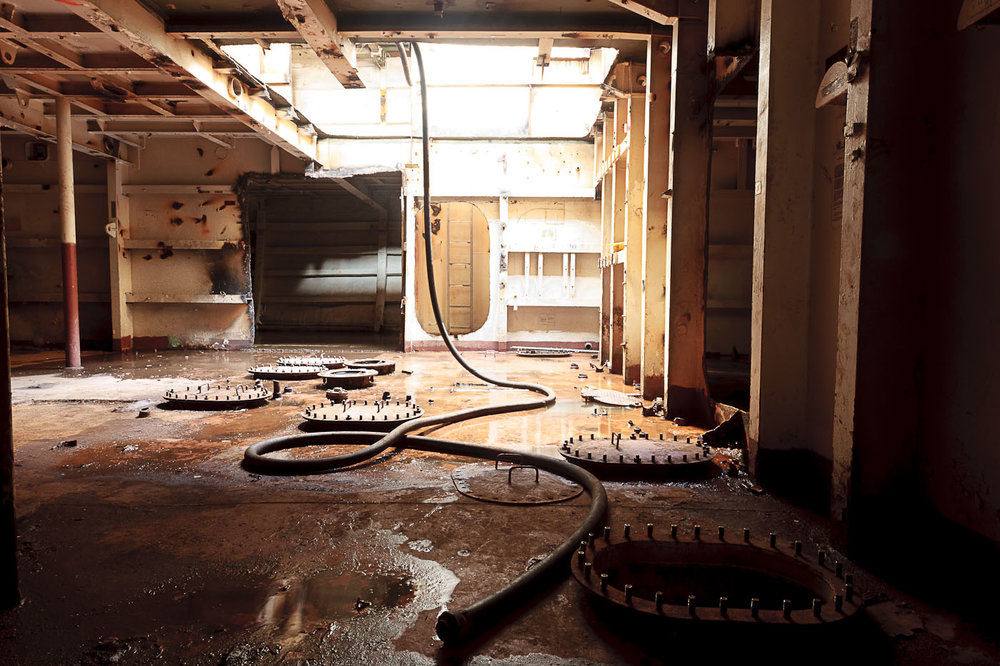 """""""JP5 Pump Room"""" C Print photograph"""