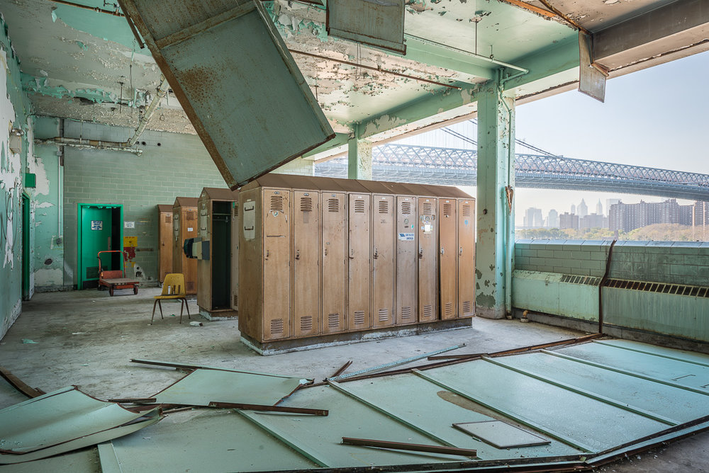 """Package House Locker"" Archival Pigment Print, 27 3/8""x 40"""
