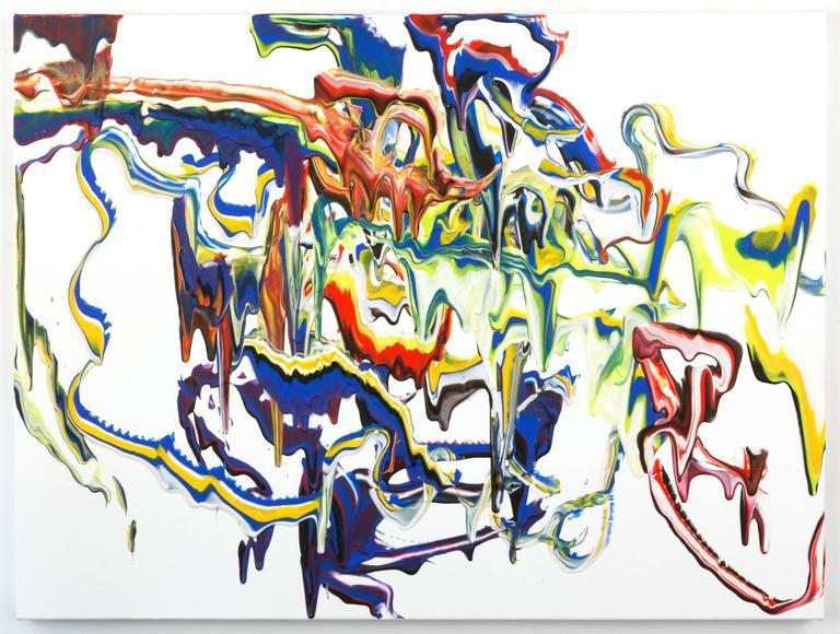 """""""Sky Walker""""acrylic on canvas30""""x40"""""""