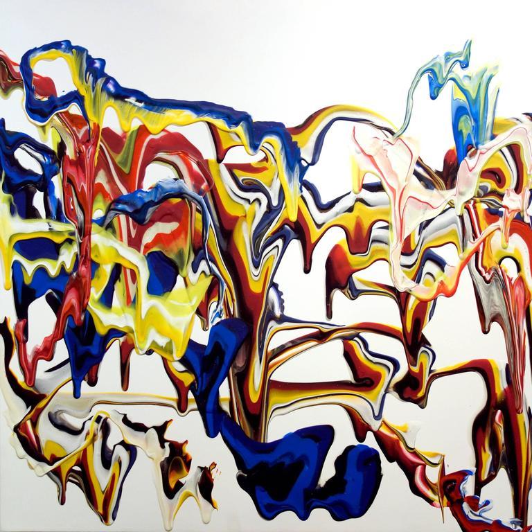 """""""Snap"""" acrylic on wood panel 24""""x24"""""""