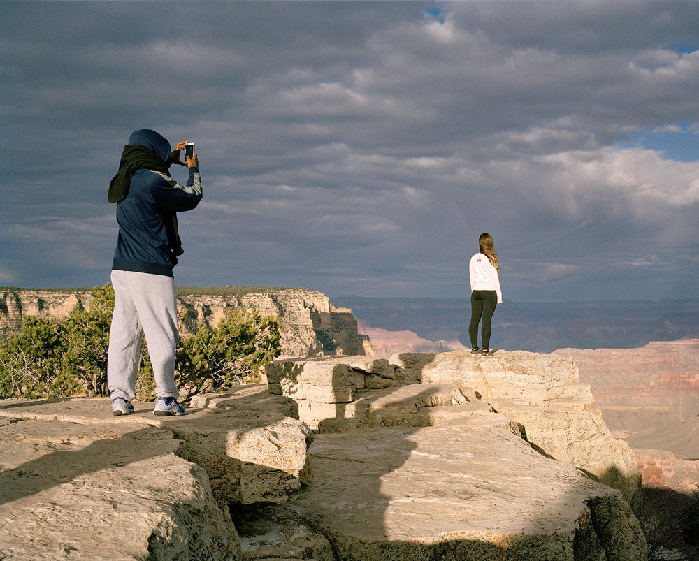 "Edie Winograde ""Grand Canyon Couple"" archival pigment print"