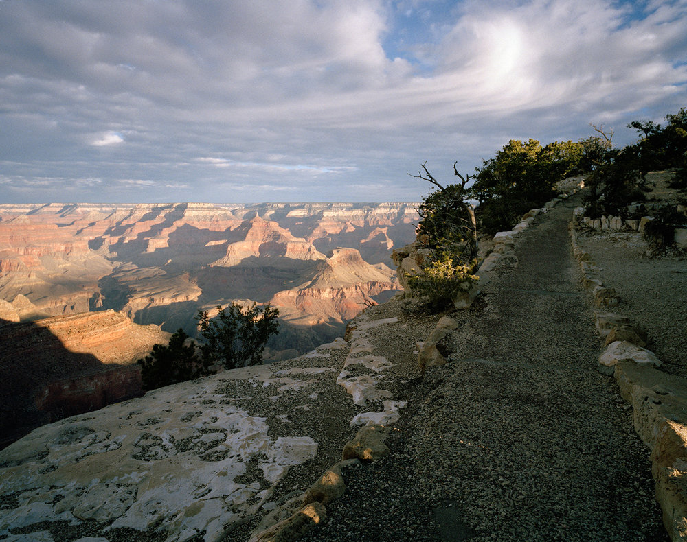 "Edie Winograde ""Grand Canyon Path"" archival pigment print"
