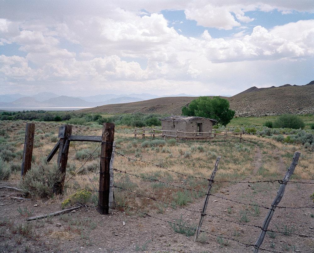 "Edie Winograde ""Pony Express Nevada"" archival pigment print"