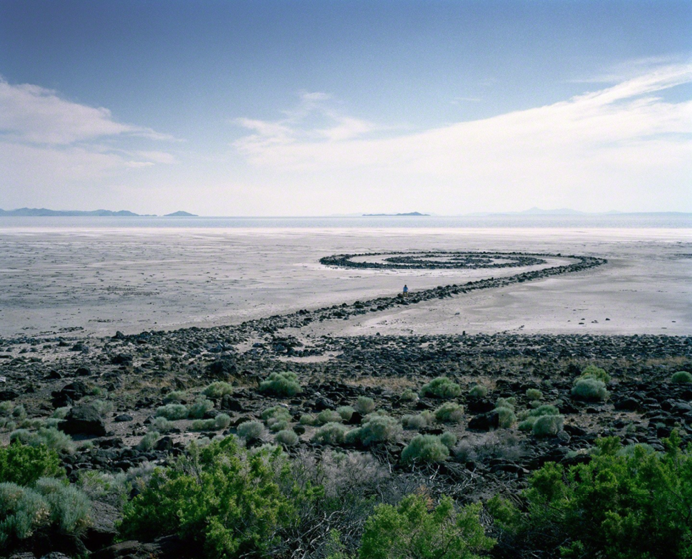 """Spiral Jetty, from Sight Seen Series"""