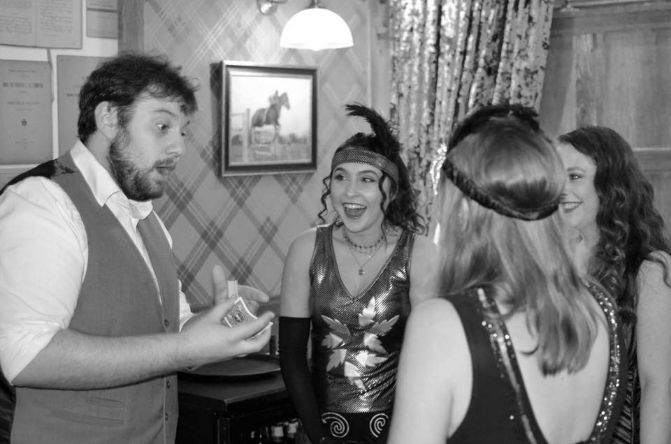 Private Parties - Birthdays, anniversaries or even just a get together. Add a touch of magic with one of our close-up or stage magicians!