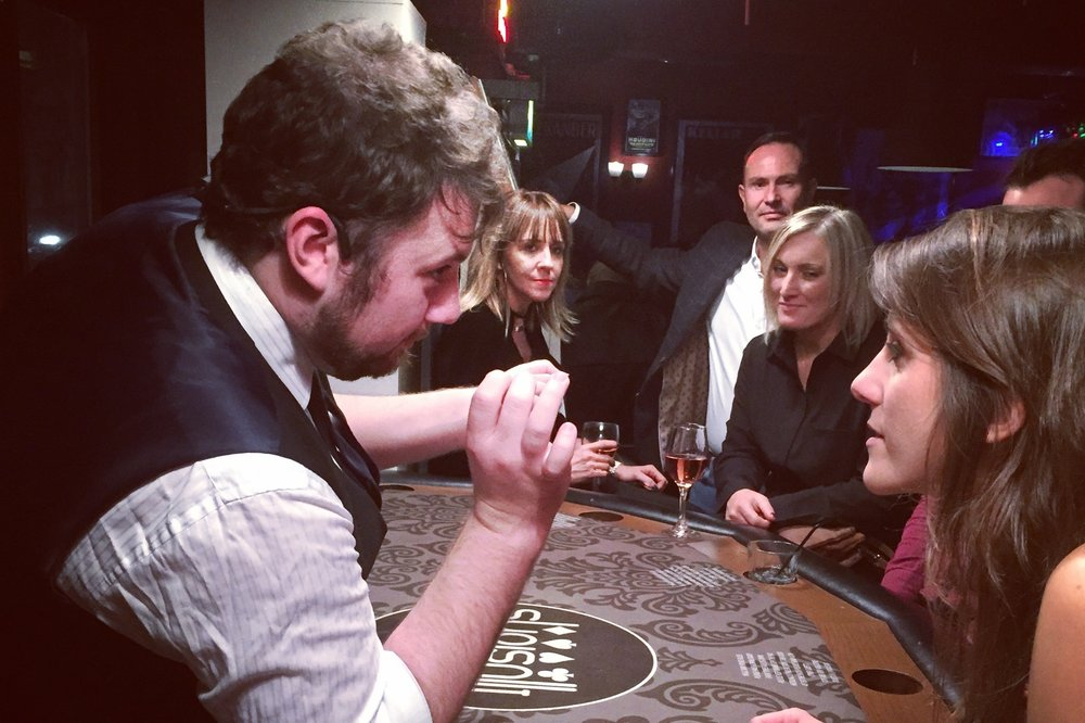 Exhibitions - From drawing in the crowds to delivering the perfect pitch, our specially chosen magicians are the perfect way to break the ice, increase your ROI and guarantee you are the booth your potential new clients are talking about well after the event has ended!