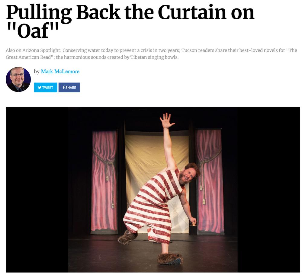 Pulling back the curtain on 'Oaf,'    Arizona Public Media
