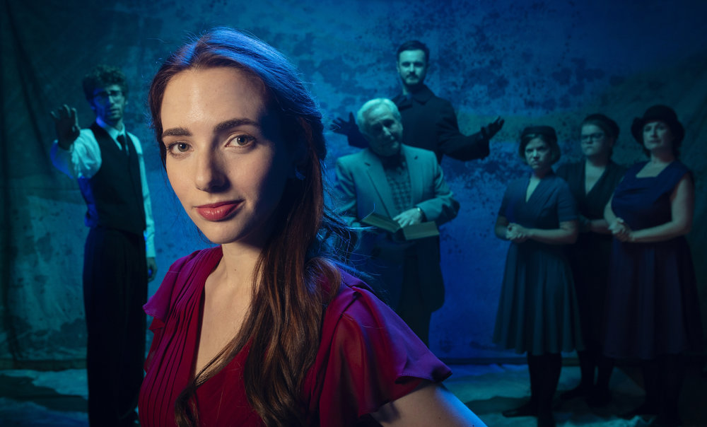 Kate Cannon leads the cast of Eurydice. Photo2 TIM FULLER.jpg