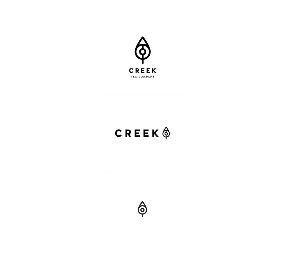 Design-by-diamond - Creek-Tea-Co - Logos