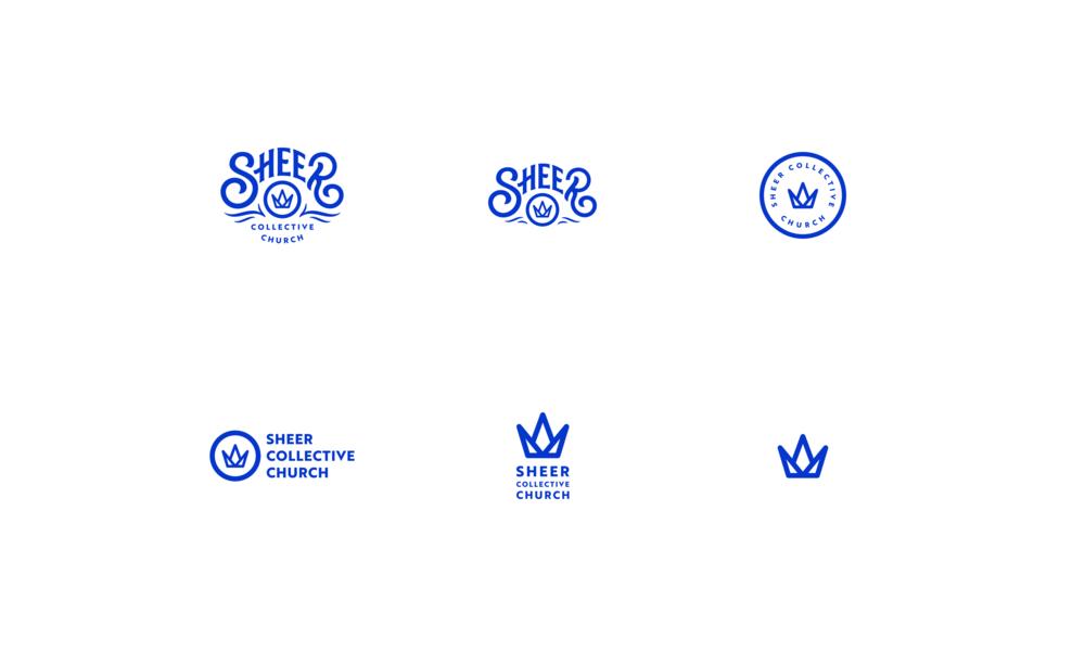 Sheer-collective-church - Logos