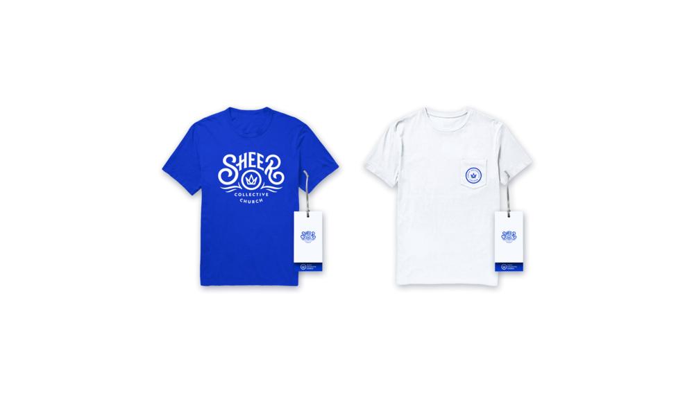 Sheer-collective-church - Shirts