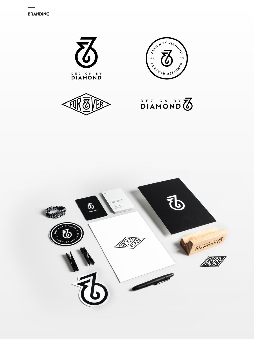 Design-By-Diamond - Branding