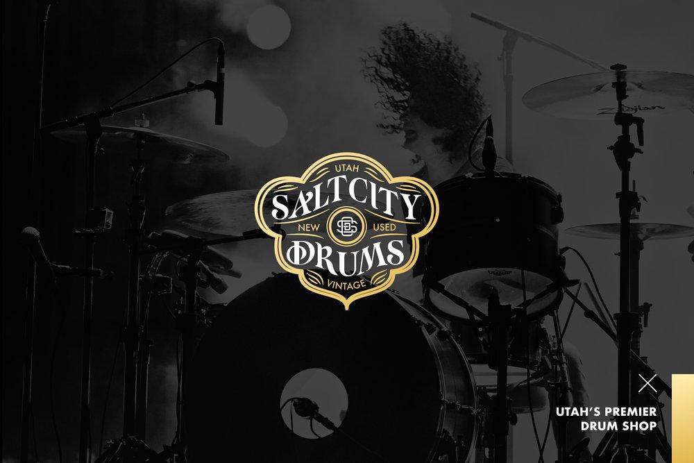 Design-by-diamond - Salt-city-drums - Branding