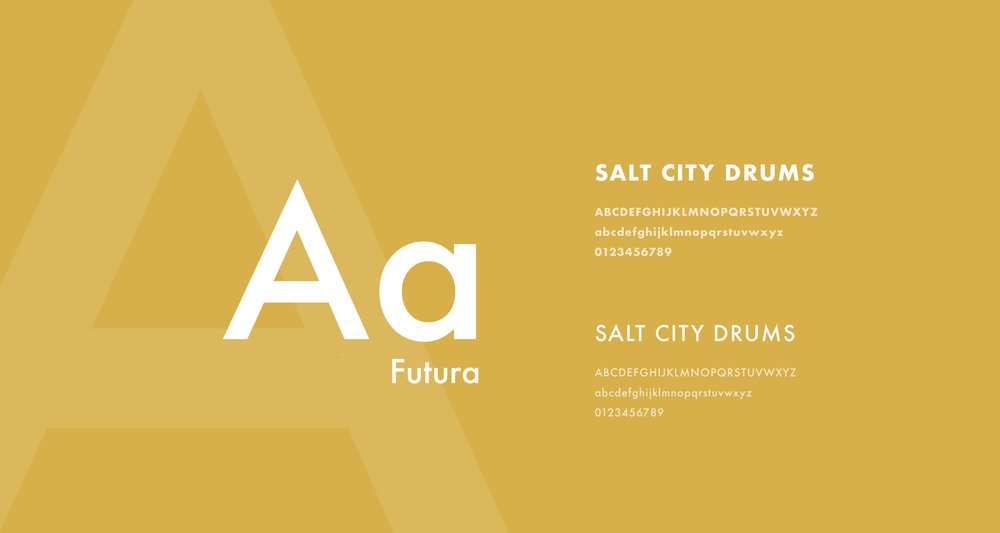 Design-by-diamond - Salt-city-drums - typography