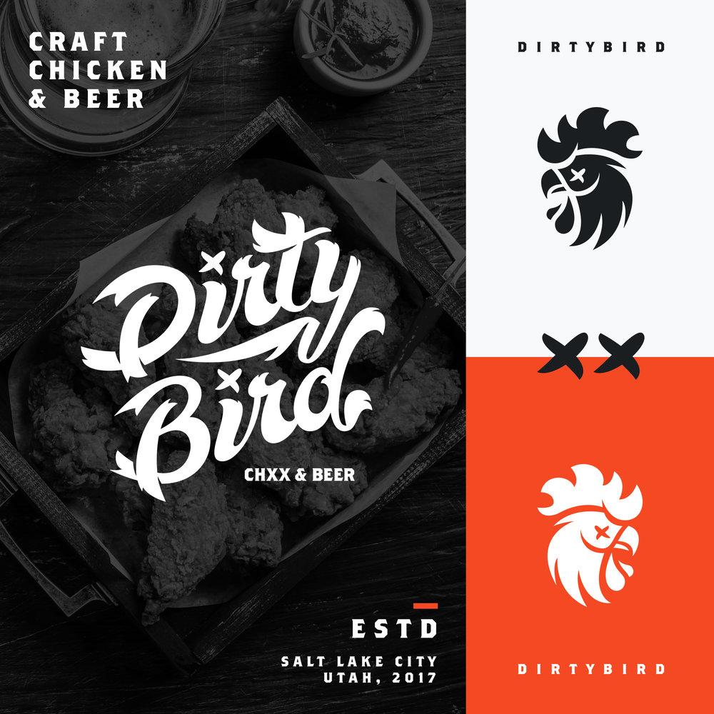 —DIRTY BIRD - BRAND IDENTITY
