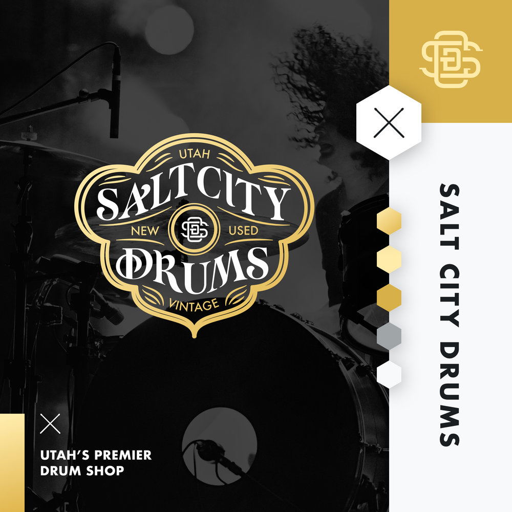 —SALT CITY DRUMS - BRAND IDENTITY