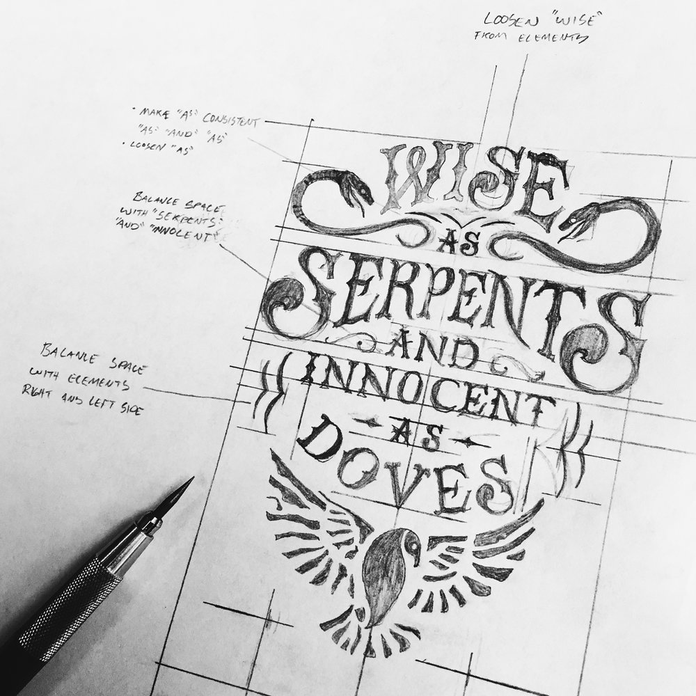 —LETTERING - HAND TYPOGRAPHY
