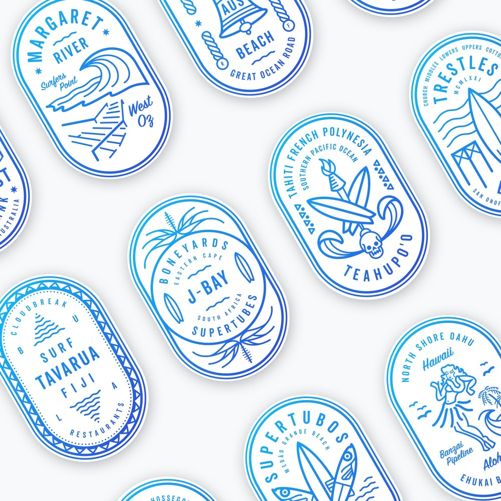 —SAVE THE SURF - BRANDING / ILLUSTRATION /  PRINT / WEB DESIGN