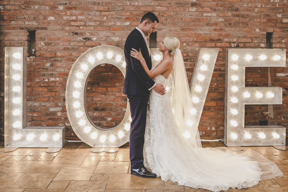 Swancar LOVE Letters Hire Nottingham