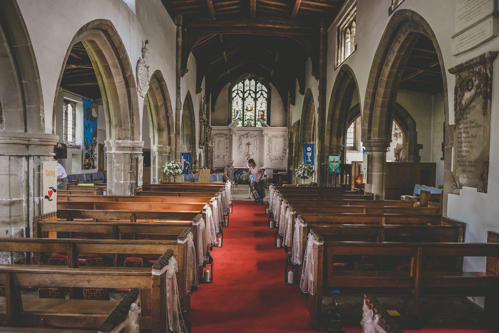 Church Venue Styling Nottingham, Derby  and the East Midlands