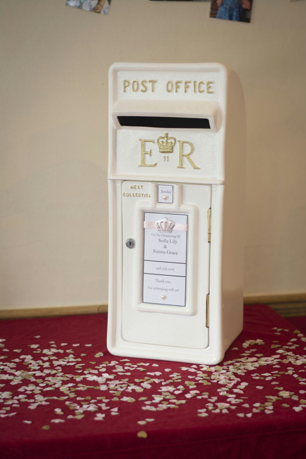 Royal Mail Post Box Hire Nottingham, Derby and the East Midlands