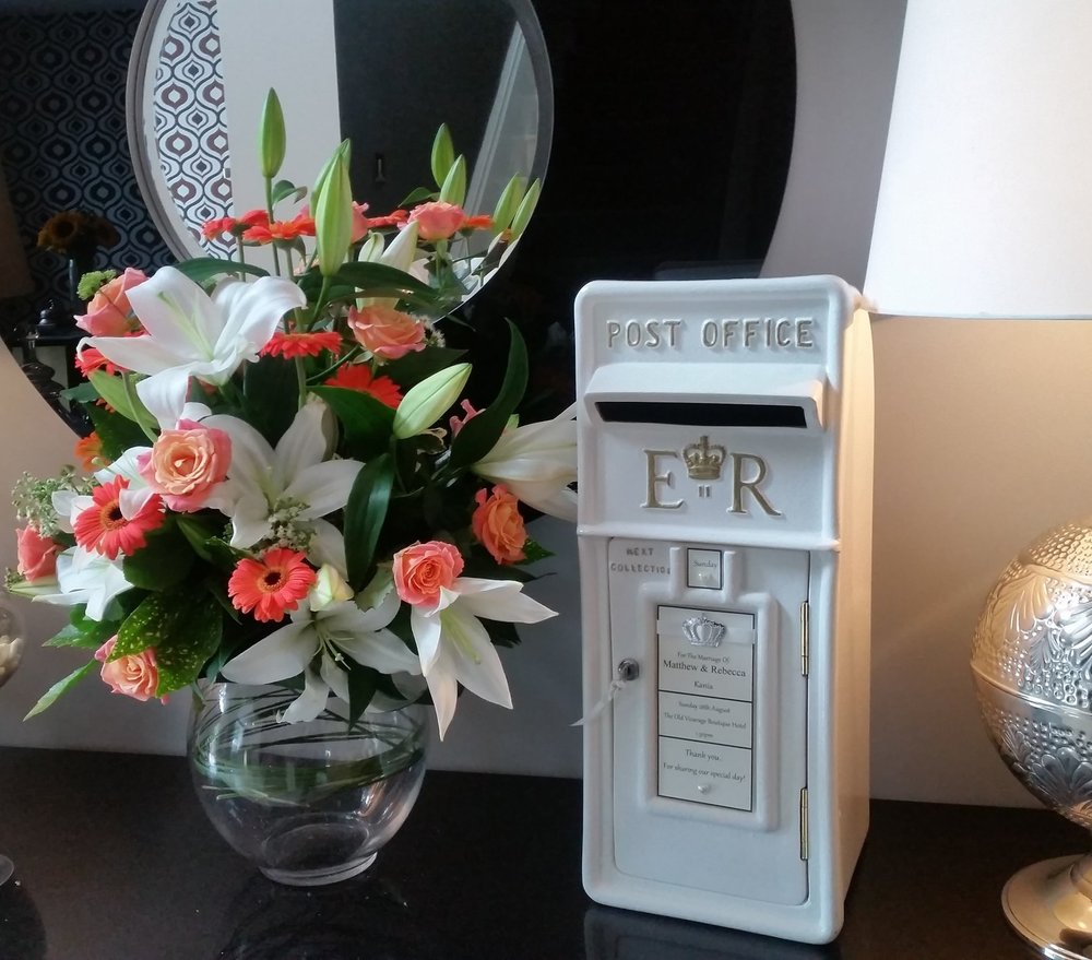 Wedding Post Box Hire Nottingham, Derby and the East Midlands